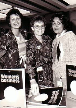 Authors of the 1986 Womens Business Report
